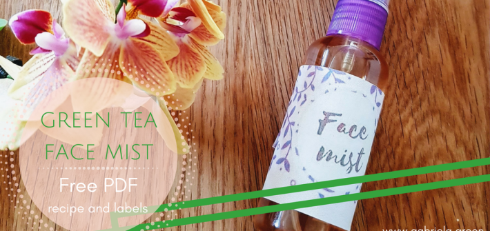 Green Tea and Roses Face Mist Free PDF - Gabriela Green - www.gabriela.green - Featured