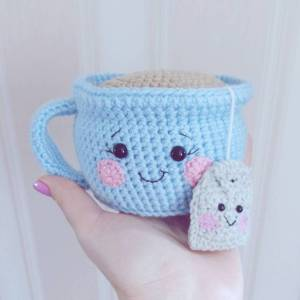 tea-cup-amigurumi-pattern Gift Ideas For Tea Lovers