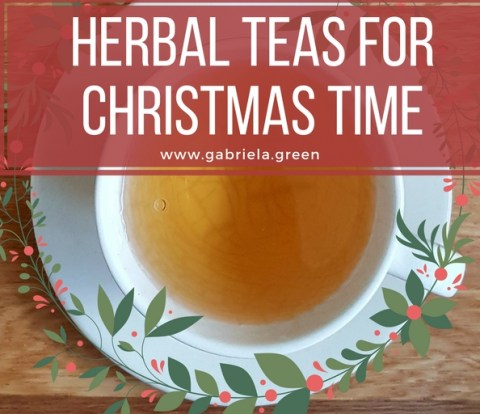 Herbal Teas for Christmas Time www.gabriela.green