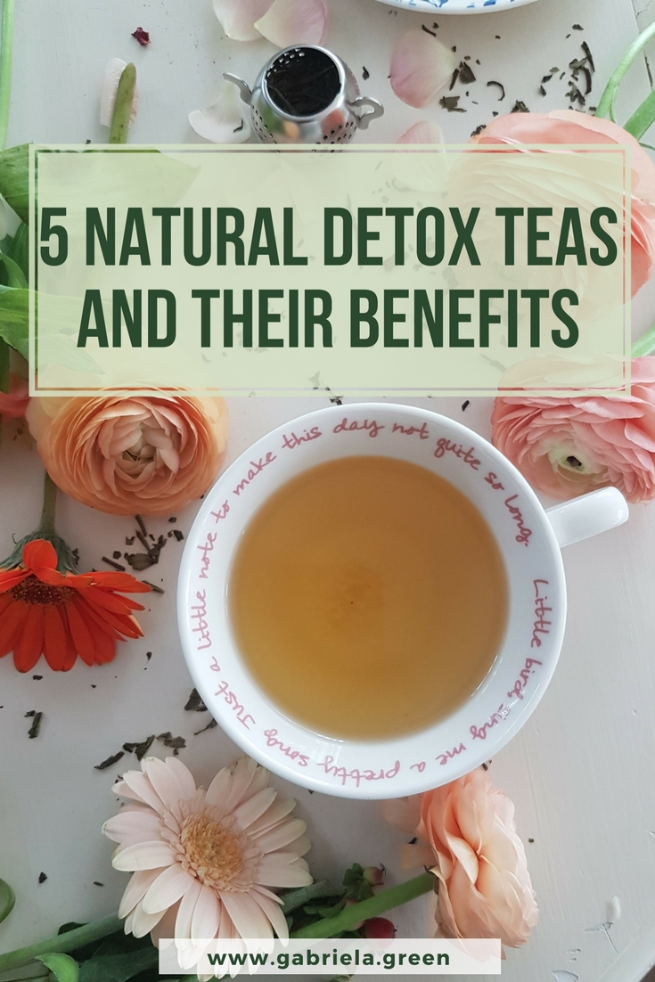 5 Natural Detox Teas and Their Benefits_ www.gabriela.green