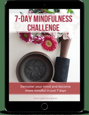 7-day Mindfulness Challenge Mockup