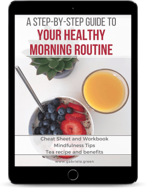 Healthy Morning routine Mockup