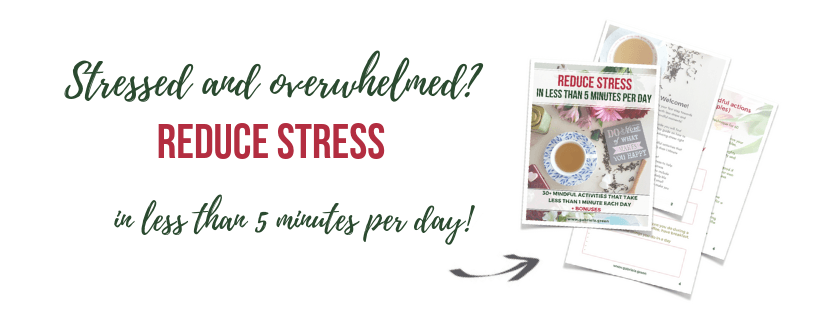 Reduce stress in less than 5 minutes per day! (1)