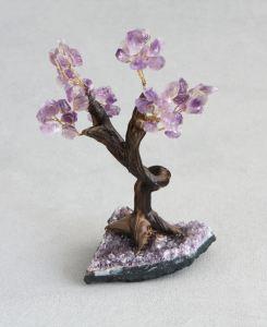 Amethyst Gemstone Bonsai Tree for Healing (1)