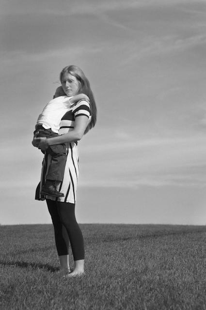 gabriela fine art photography- portrait of a woman as a mother, Janine