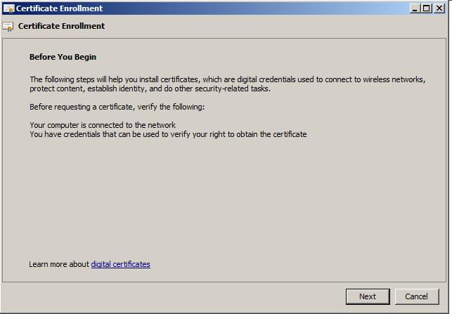 SCCM 2012: Part II - Certificate Configuration   GabrielBeaver me