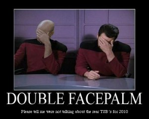 So your VMWorld Session got denied too.