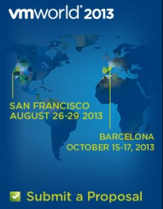 VMworld 2013 – Call for papers is now open