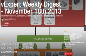 vExpert Weekly Digest – Yes I paid my webhosting bill edition