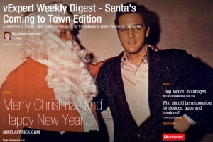 vExpert Weekly Digest – Santa Claus is Coming to Town Edition
