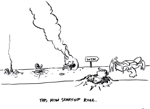 HOW STARTUPS ROLL