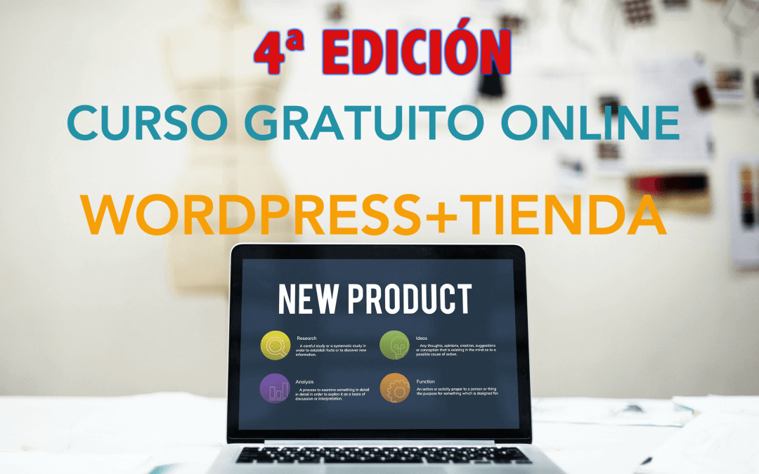 4ª edición del curso WordPress + Woocommerce
