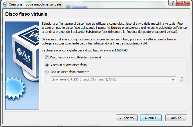 installare windows 3.1 su virtual box (5/6)