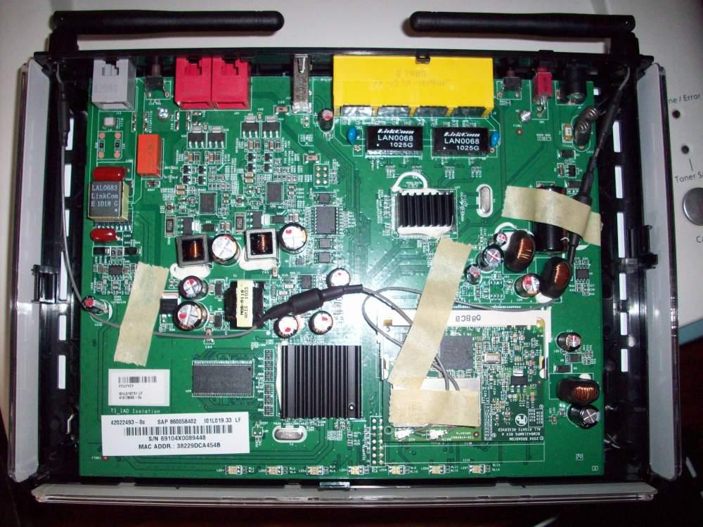 modificare il router Pirelli Alice Gate Voip 2 Plus Wi-Fi (5/6)
