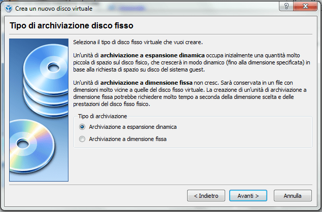 installare windows xp su virtual box (4/6)