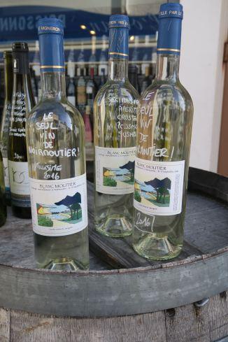 Inselwein im Sortiment der Cave de l'Ile