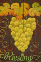 Wein als gemalte Winzerwerbung