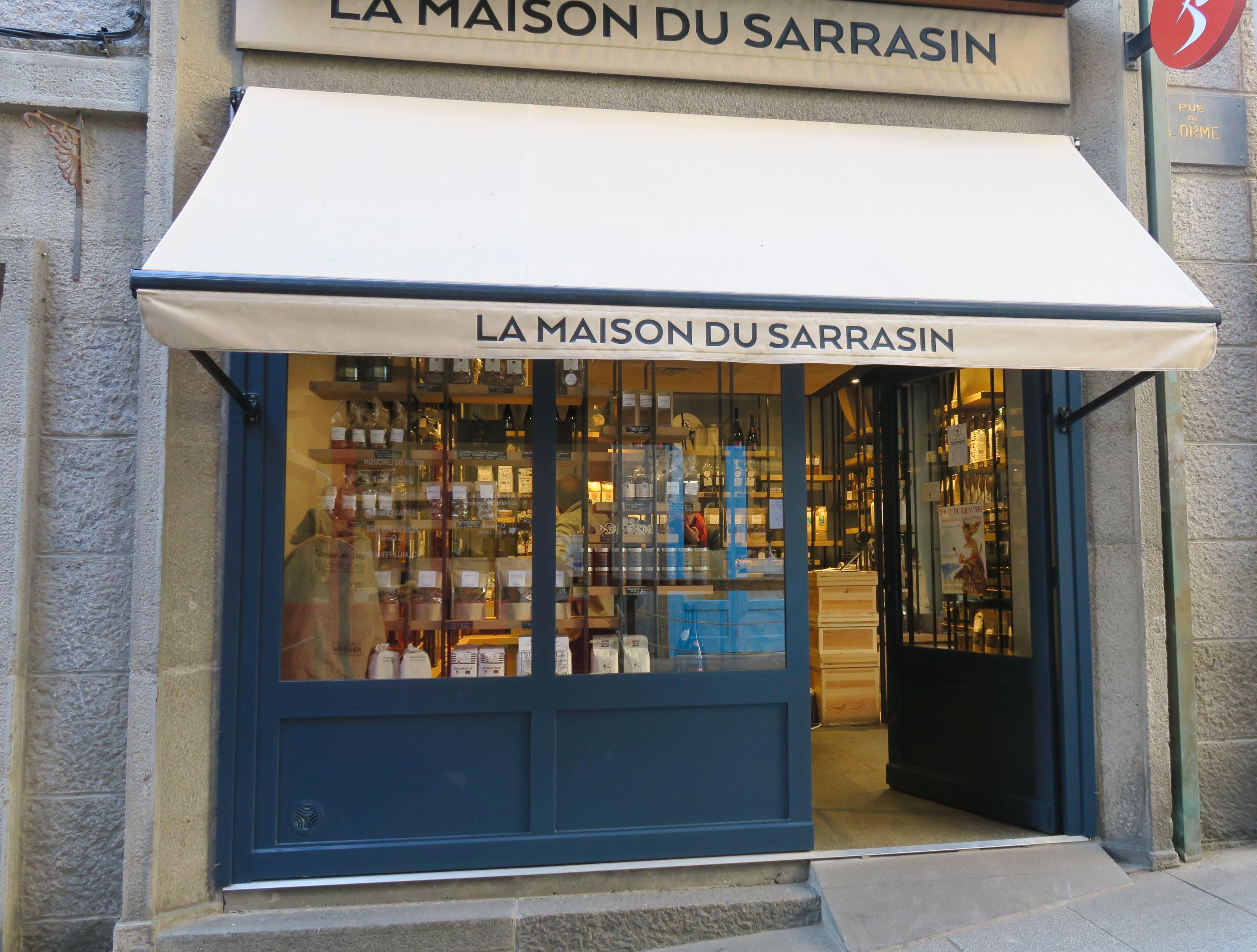 Buchweizenspezialist in der Rue de l'Orme in Saint-Malo