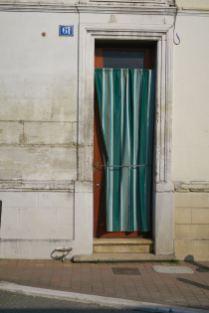 Bordeaux Rideau de porte