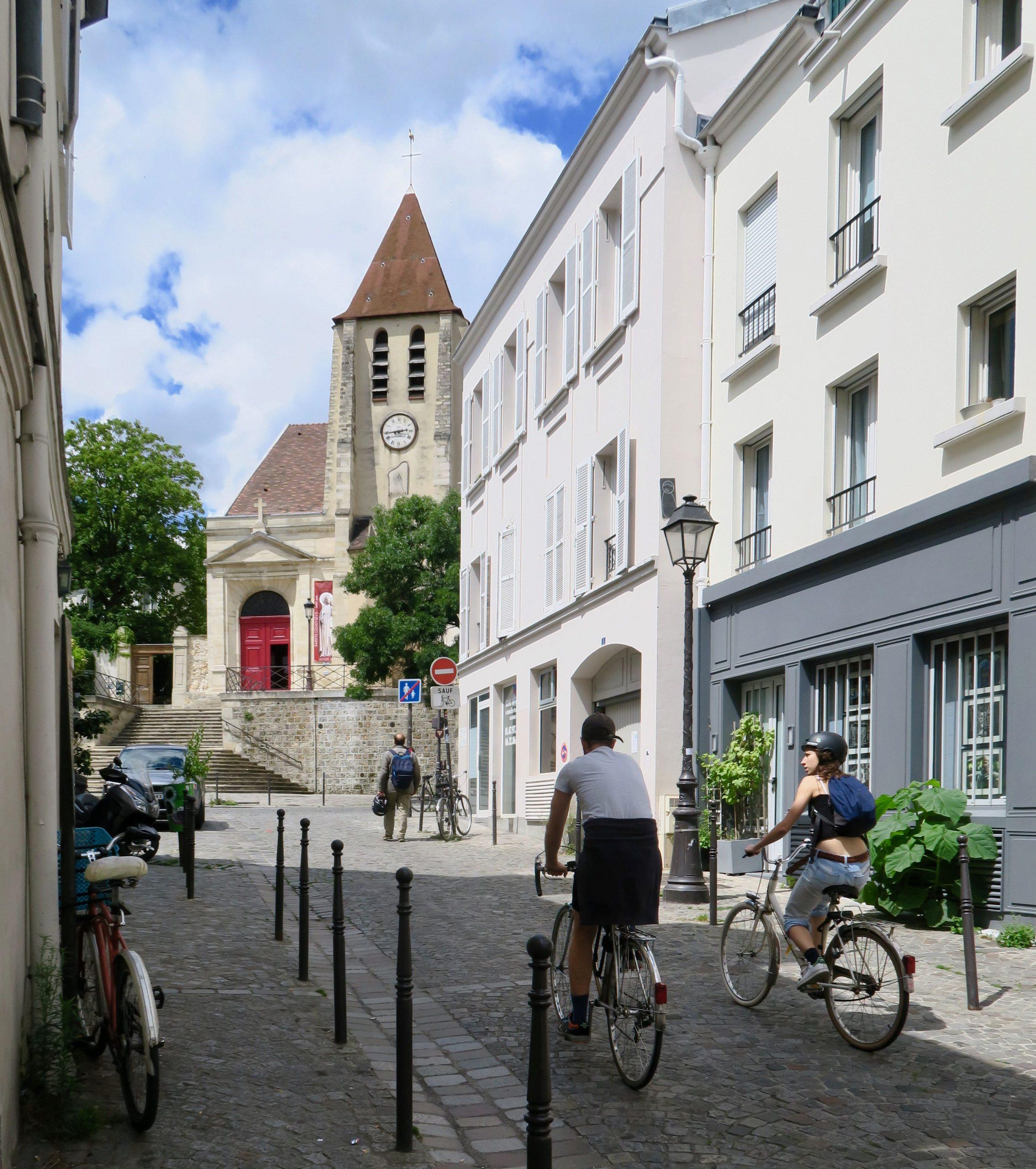 Paris Rue Saint-Blaise und Saint-Germain-de-Charonne