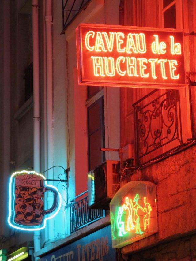 Paris Caveau de la Huchette Quartier Latin