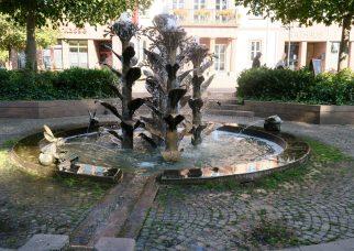 Pfalz Herxheim Tabakbrunnen Barbara und Gernot Rumpf