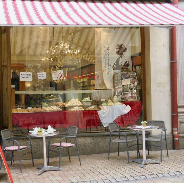 Kastanienkuchen im Café Schluckebier in Neustadt an der Weinstraße