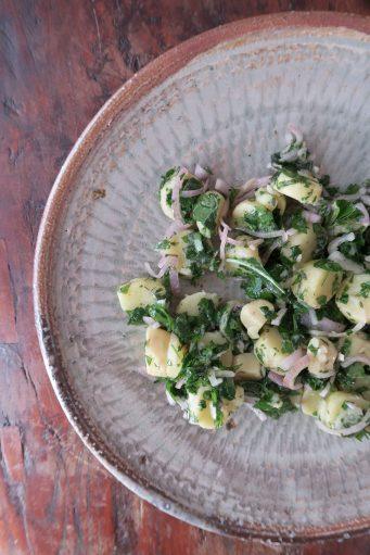 Kartoffelsalat mit Kräutern