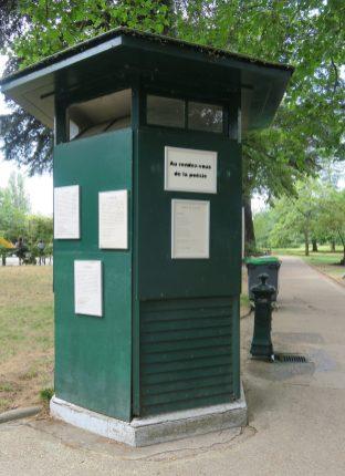 Paris Jardin des Poètes