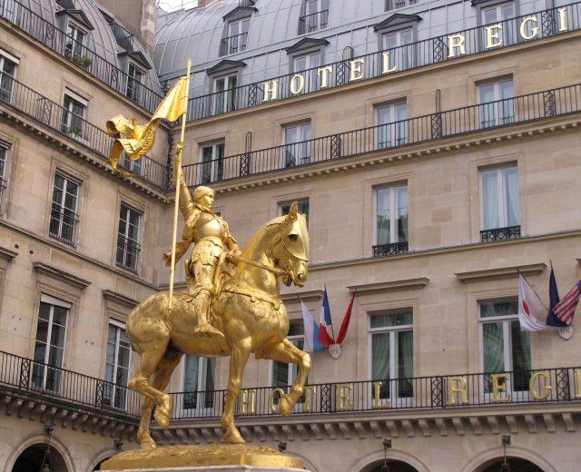 Hotel Regina Rue de Rivoli