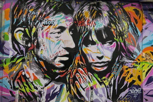 Street-Art Gainsbourg Jo di Bona