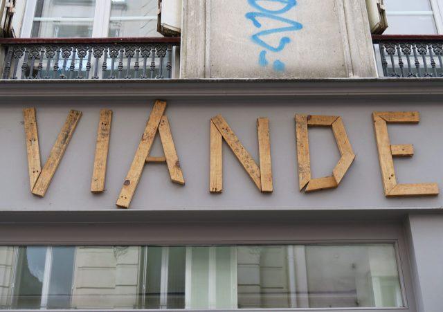 Paris Holzbuchstaben