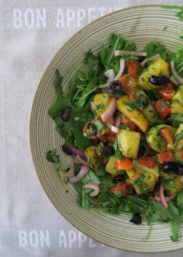 Südfranzösischer Ofenkartoffelsalat