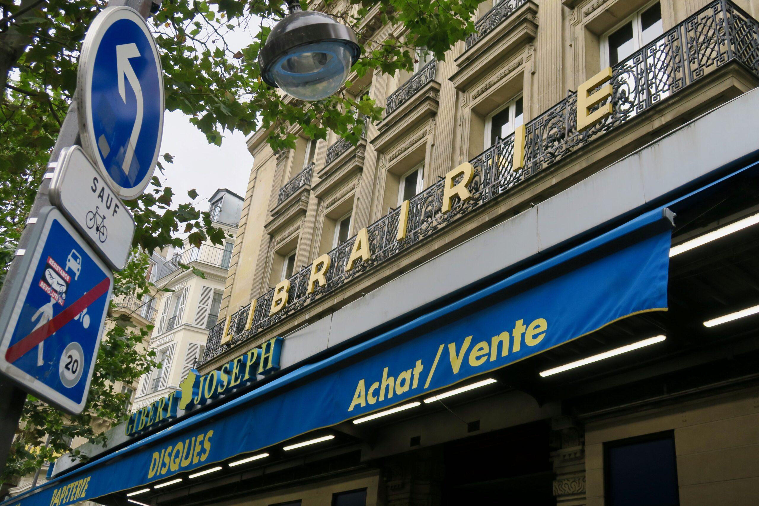 Paris Gibert Buchhandlung Librairie