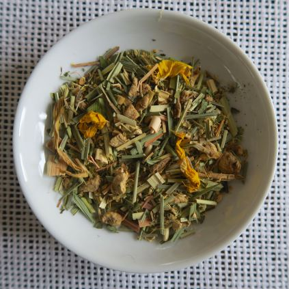 Tee mit Ingwer Zitrone