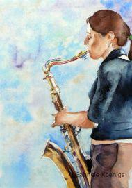 Musik mit Seele (Musikstudentin)