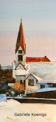 Aichelberg, evangelische Kirche
