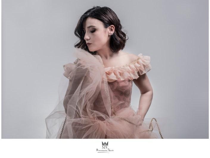 Fotografia di Ritratto Fine ART Mariassunta Vanita Hairstylist Loreal di Gabriele Tolisano