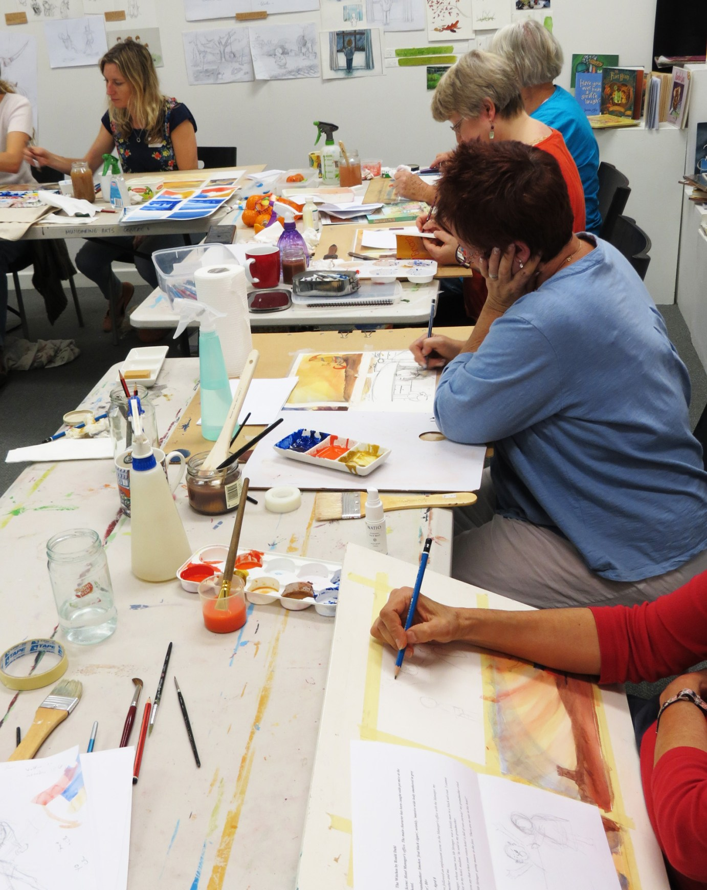 HeARTline Festival Workshop at Mundaring Art Centre