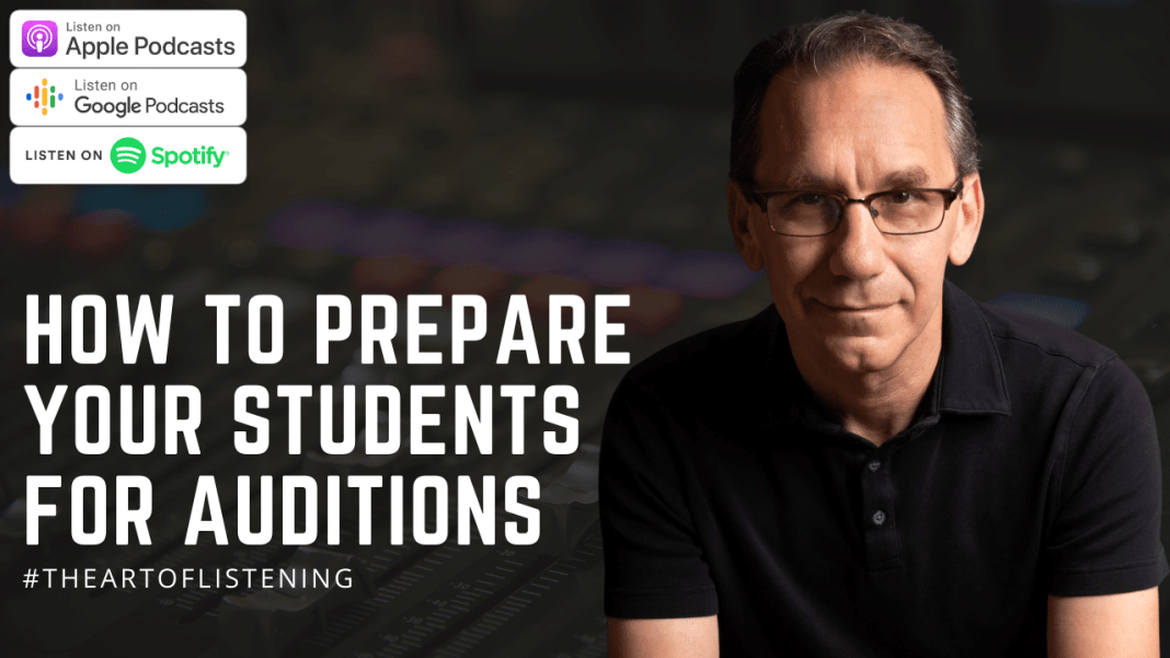 Preparing Students for Auditions