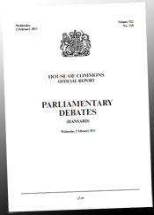 Public Forest Estate debate Hansard 2Feb2011