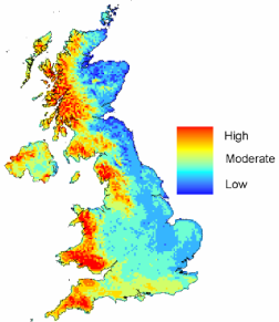 Phytophthora sp risk modelling in the UK
