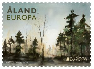 Aland Islands Europa stamps