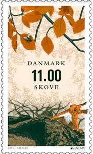 Denmark Europa stamps