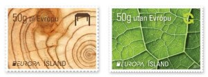 Iceland Europa stamps