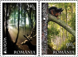 Romania Europa stamps