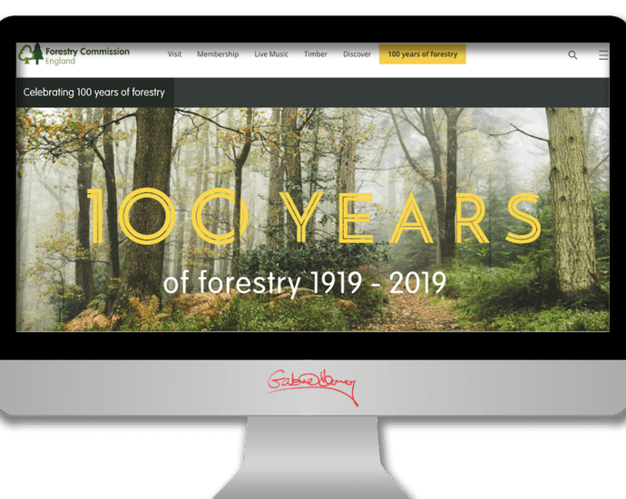 Celebrating 100 years of the Forestry Commission