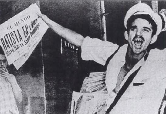 Batista è fuggiro prima dell'arrivo dei guerrilleri all'Avana