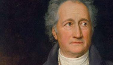 Wolfgang von Goethe (1749 - 1832)
