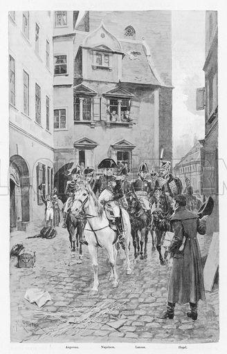 13 ottobre 1807, Hegel assiste all'ingresso di Napoleone a Jena